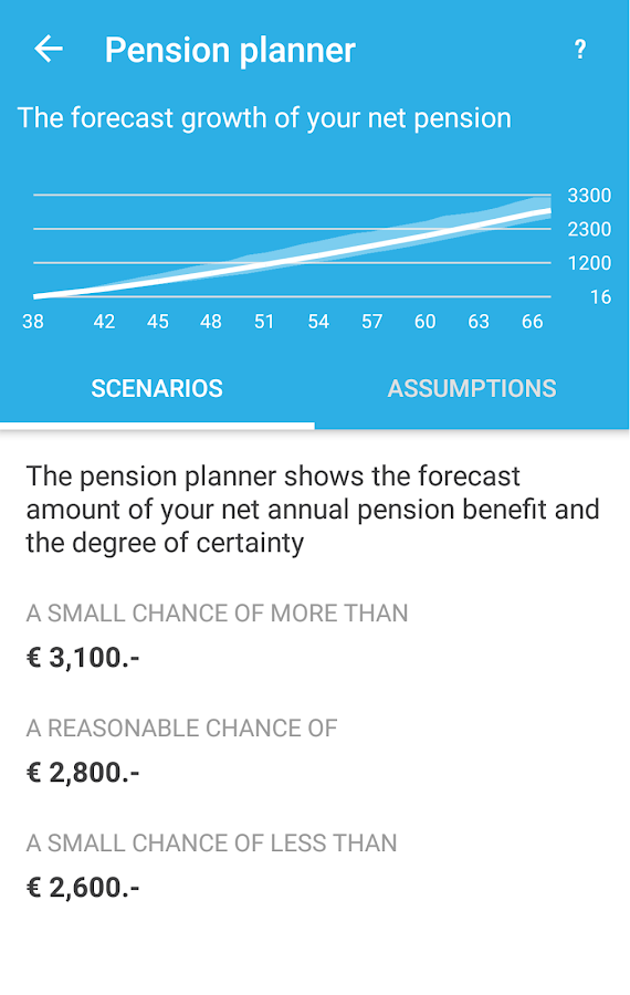 My Pension- screenshot
