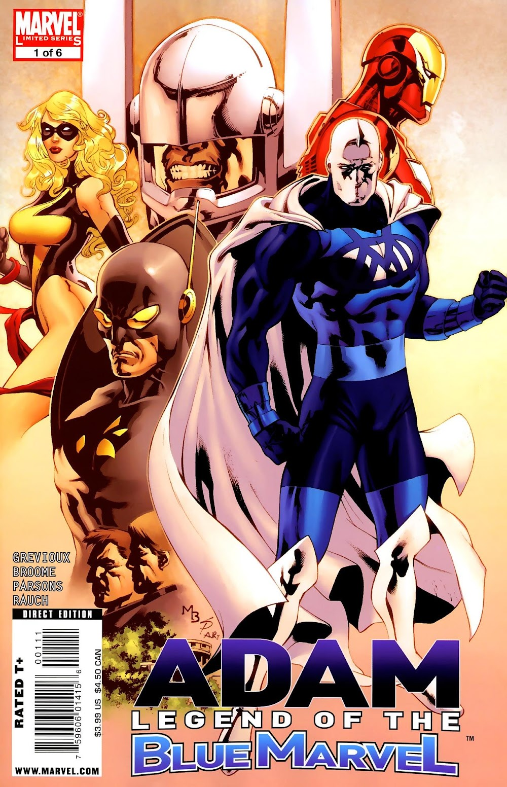 Adam - Legend of the Blue Marvel (2009) - complete