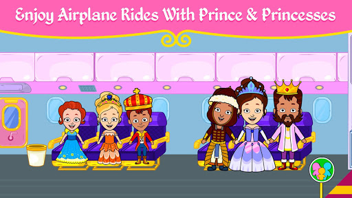 👸 My Princess Town - Doll House Games for Kids 👑 screenshots 2