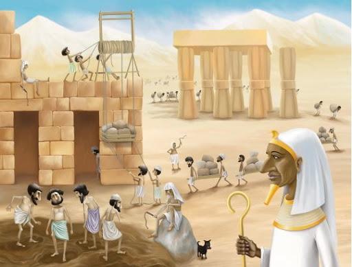 Tiranía de Egipto hacia a los israelitas