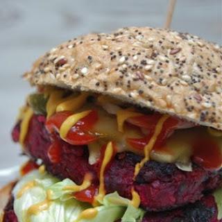 Monster Beet Burger.
