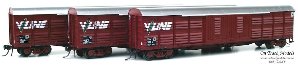 Photo: Pack VLEX-6 - V/Line VLEX 852S, VLEX 870Q, & VLEX 1000C