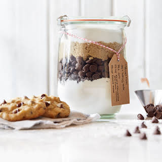 Chocolate Chip Cookie Mix In A Jar.