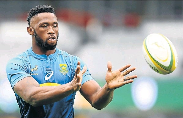 Springbok captain Siya Kolisi will take on the role of blindside flank against Argentina on Saturday