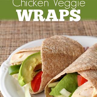 Chicken Veggie Wraps Recipe