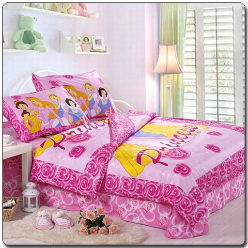cartoon Princess Bedroom