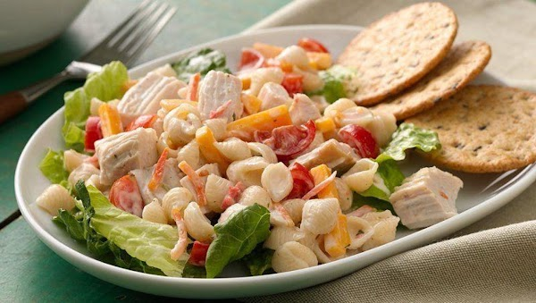 Chicken Ranch & Bacon Club Pasta Salad Recipe