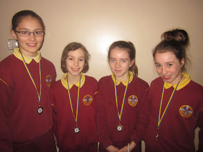 Photo: Under 12's medley team who came second