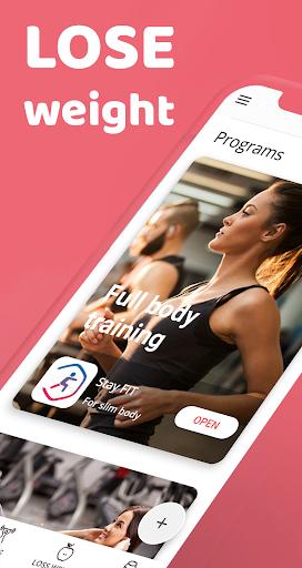 Female fitness screenshot 1