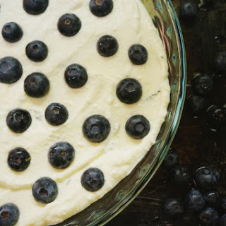 Citrus Blueberry-Mint Baked Ricotta