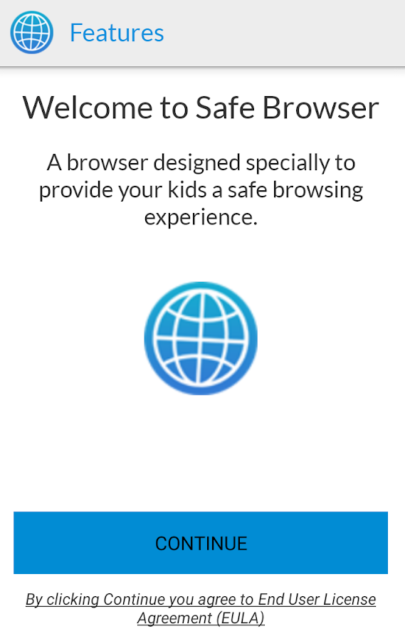 Safe Browser- screenshot