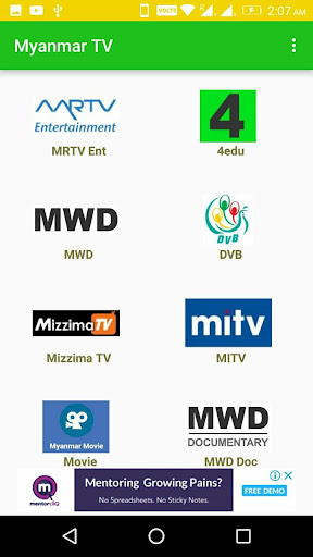 TV Myanmar - All Live TV 4.0 app download 2