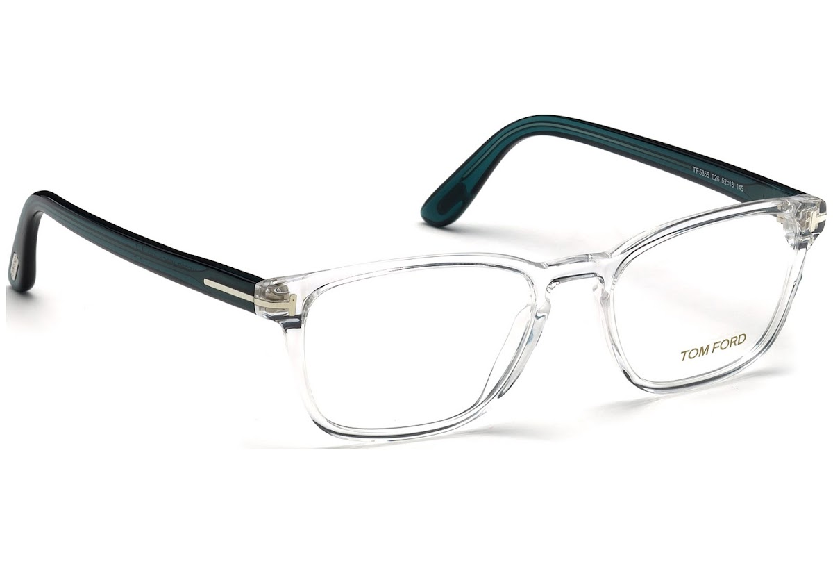 1fe3f04ebb4b9 Buy Tom Ford FT5355 C52 026 (crystal   ) Frames