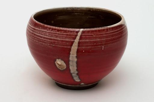 Bruce Chivers Ceramic Raku Tea Bowl 01