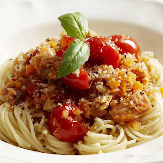 Spicy Tuna and Fennel Bolognese.