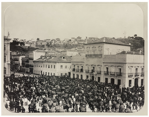 The Day the Golden Law was signed at Paço Imperial