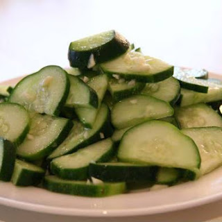 Chinese Cucumber Salad.