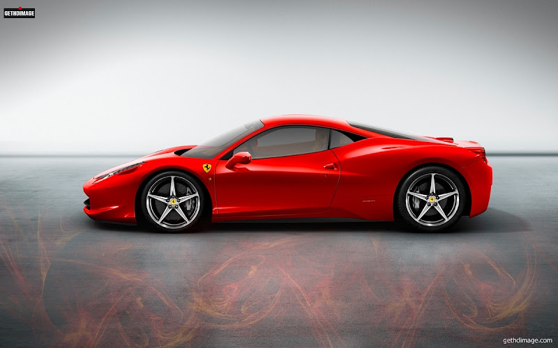 Photo: Ferrari racing car Image