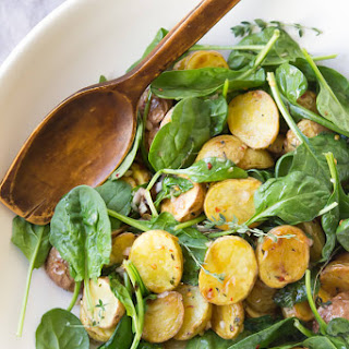 Brown Butter Apple Cider Potato Salad.