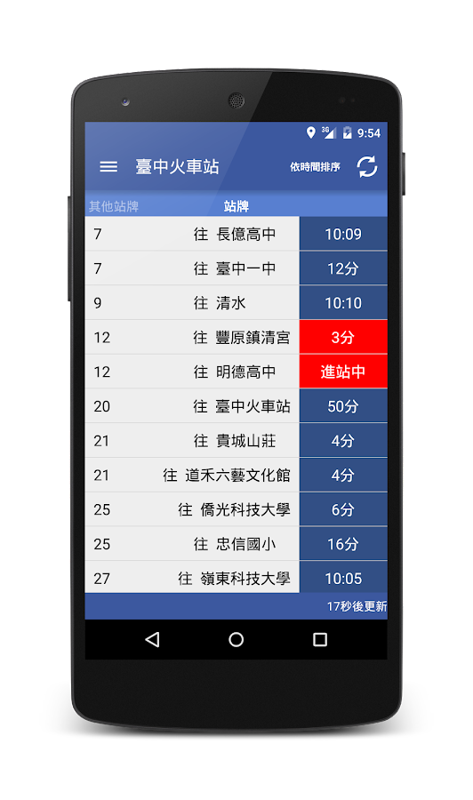 Taichung Bus (Real-time)- screenshot