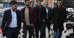 Los futbolistas del Reus.