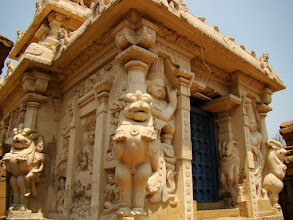 Photo: #020-Kanchipuram, le temple de Kailashanatha