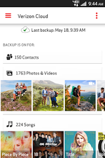 Verizon Cloud - screenshot thumbnail