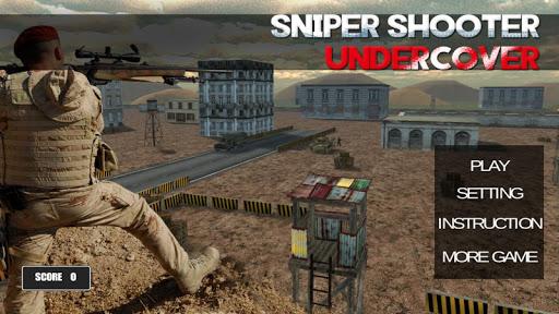 Sniper Shooter Undercover