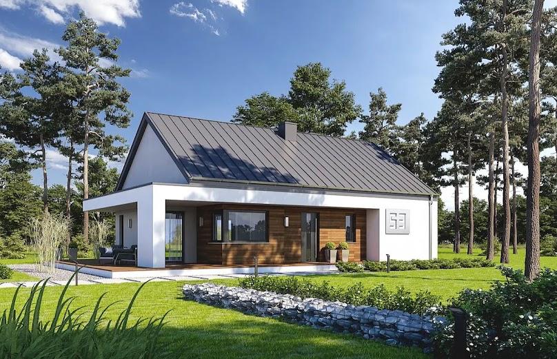 Projekt domu Zgrabny D53