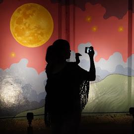 Shadow by Carlito Rivera - People Street & Candids ( color, shadow, miami, art, wynwood,  )