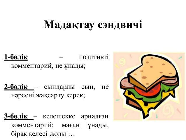 Картинки по запросу мадақтау сэндвичі