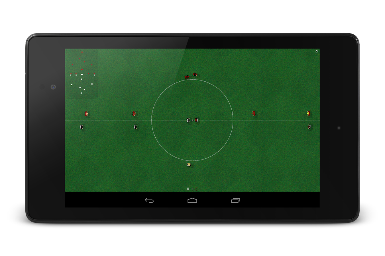 Natural Soccer – Screenshot
