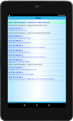 Screenshot for AIRCRAFT DOCUMENTATIONS in Hong Kong Play Store