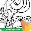 How To Draw Villians