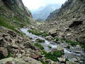 Photo: El río baja.