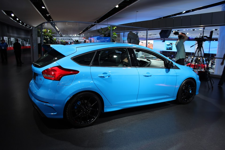 Ford Focus Forum >> Nitrous Blue Rs At Naias 2016 Ford Focus Forum Ford Focus St