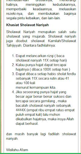 Shalawat nabi lengkap revenue & download estimates google play.