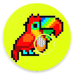 PIXLE 3D - Color by Numbers - Pixel Art Coloring Icon