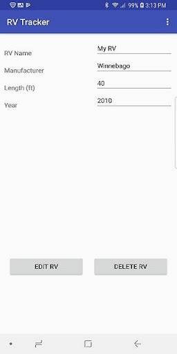 RV Tracker 6.0 screenshots 1