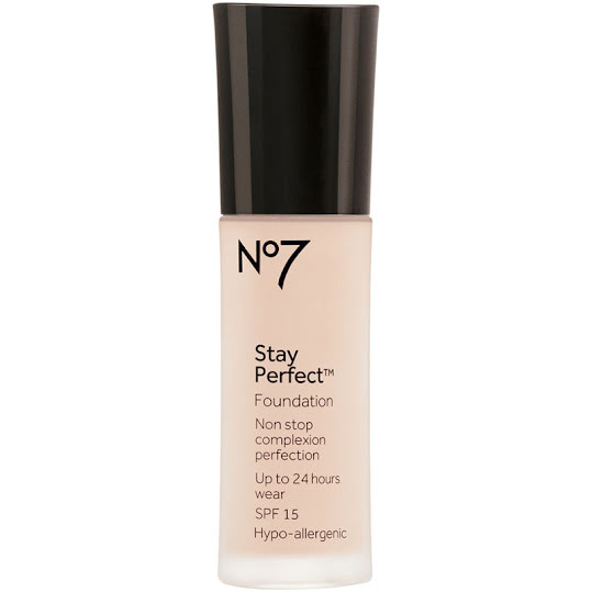 No7 Stay Perfect Foundation SPF 15 30 ml Cool ivory