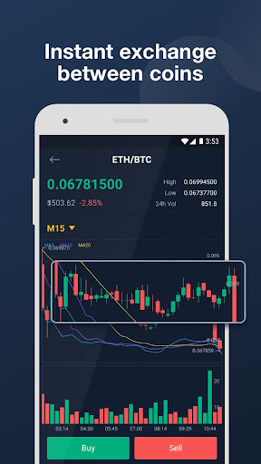 Bitrue - Cryptocurrency Wallet & Exchange - screenshot