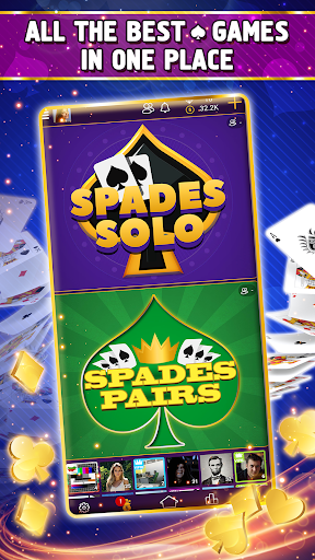 VIP Spades - Online Card Game 3.6.85 screenshots 4