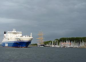Photo: Travemünde: Fährhafen nach Schweden, Finnland, den Baltischen Staaten und Russland