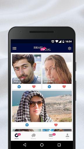 Israel Social - Dating Chat App Screenshots 1