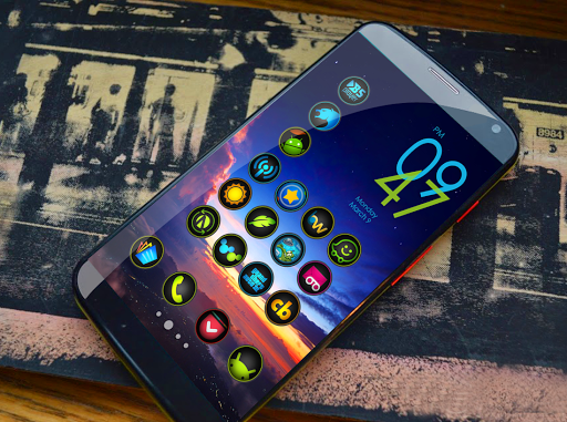 Fixter Icon Pack app for Android screenshot