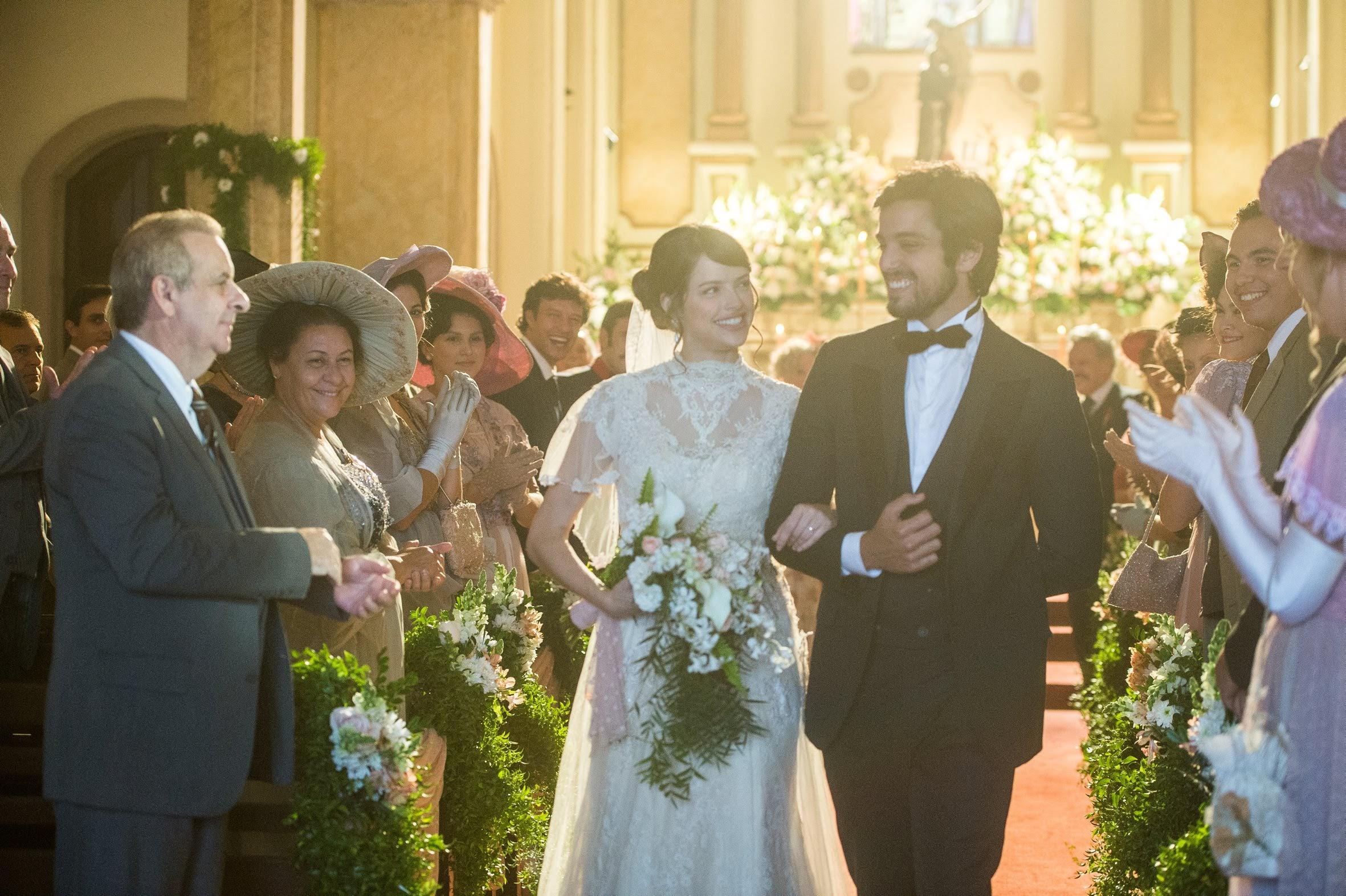 Chega o dia do tão esperado casamento de Ema e Ernesto  - Orgulho e Paixão