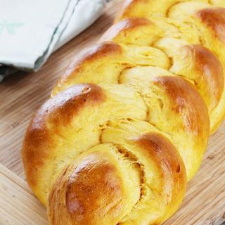 Braided Sweet Potato Bread.