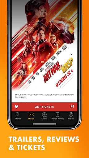 Popcorn: Movie Showtimes, Tickets, Trailers & News 5.10.29 screenshots 4