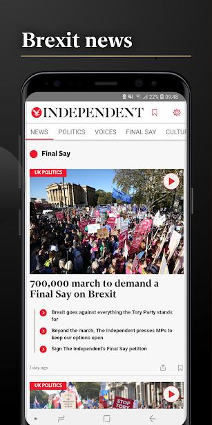 Independent Minds screenshot for Android