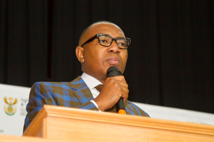 Deputy Minister Mduduzi Manana Launching The Ekurhuleni East Tvet College Daveyton Campus on 26 May 2017. File photo.